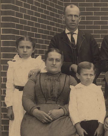 Great-great Grandparents Mary Ellen & Charles Detweiler, Stella & Ephraim