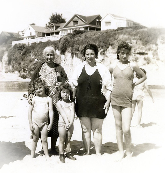 Anaceta, Mary, Mama, Penny & Annie