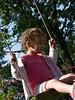 Abi on swing