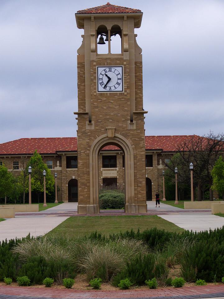 Closer view of same clock