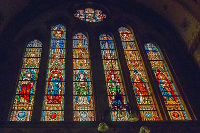 Windows in church