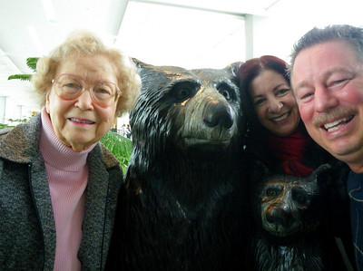 Visit to Mom Stewart, Oak Ridge TN January 22-30, 2011
