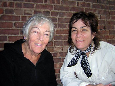 Barbara Jean with niece Pam McClintock (cousin Pam to me!)