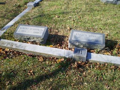 Dad and Edna's Gravestones