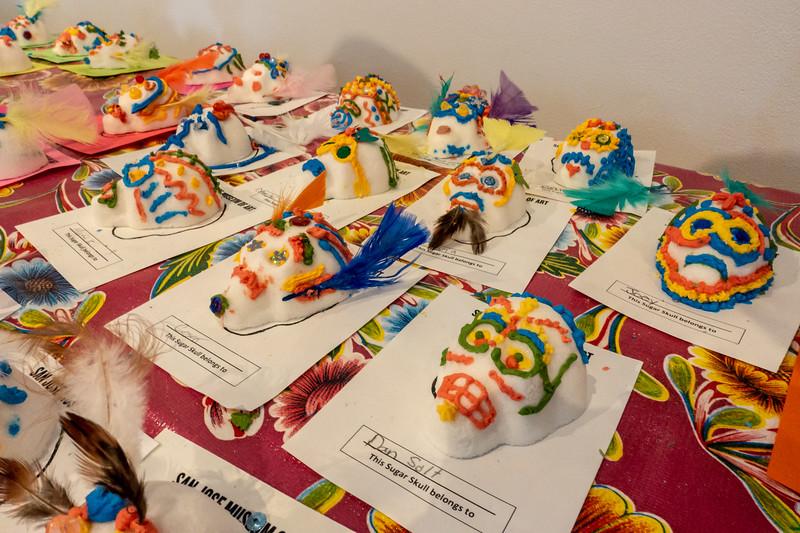 Sugar Skulls at the San Jose Museum