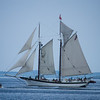 Sailing ship on Grand Traverse Bay