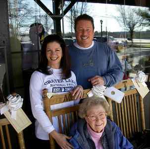 Visit with Mom Stewart, Oak Ridge TN January 24-31, 2009
