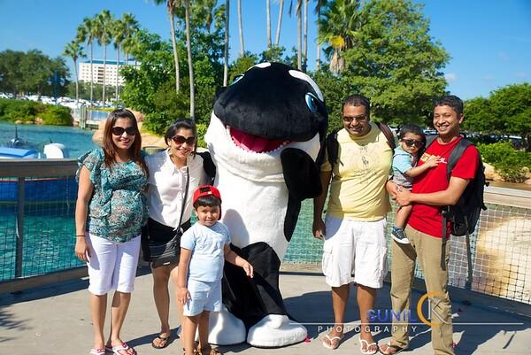 Orlando trip with Family