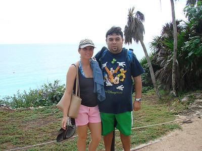 Betty & Carlos Tulum. Septiembre 2009