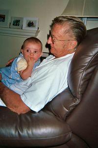 Grandpa Jim w Marty