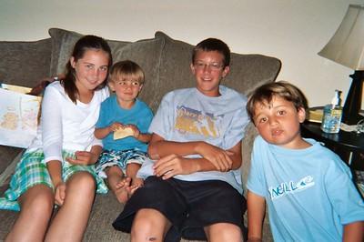 Cousins - Annie, Paul, Danny, Jimmy