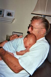 Grandpa Jim with Daniel