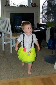 What happens when Edmund rummages through a baby girl's closet and brings a skirt to me . . .