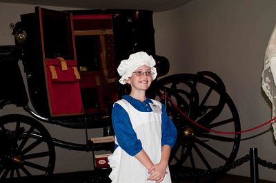 The rest of the pictures are at The Hermitage, home of Andrew Jackson, the 7th President of the US.  The day we went was junior docent day.