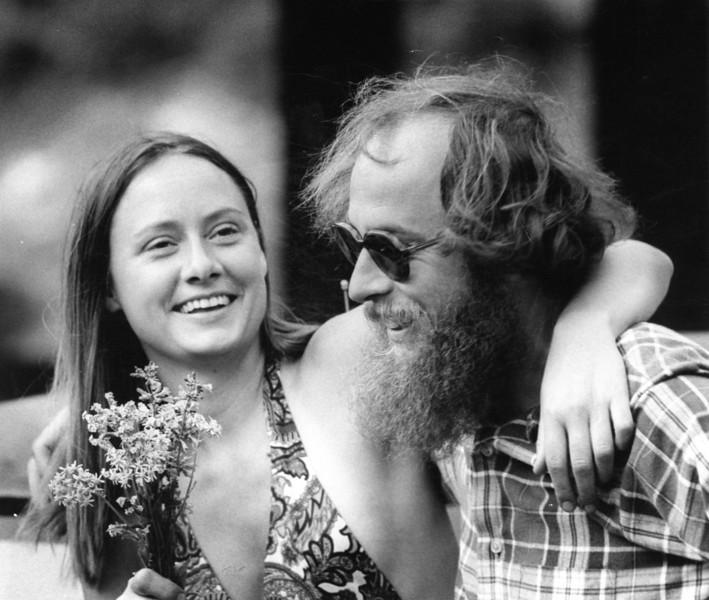 Pat & Daddy Jim <br /> Boulder, Colorado<br /> 1975