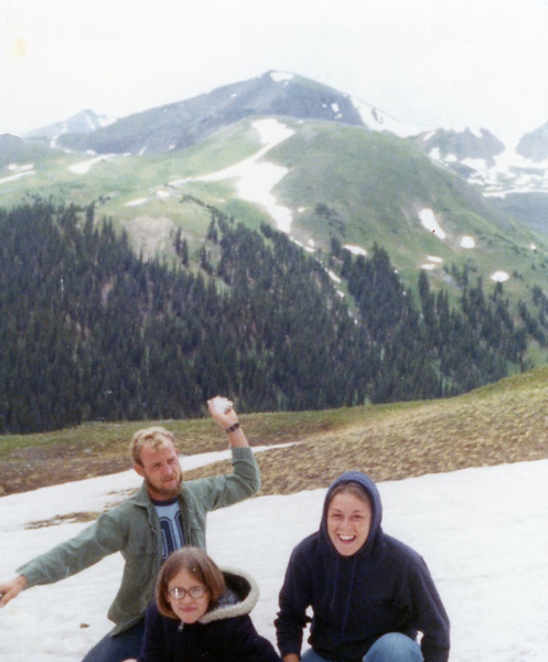 Uncle Gary, Aunt Nancy and Christine<br /> Colorado<br /> 1975