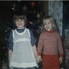 Christine and friend<br /> 1970