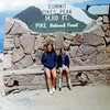 Christine with Aunt Nancy<br /> Pikes Peak, Colorado<br /> 1975