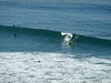 Surfing with a padle