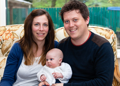 Clare, Scott and Abigail