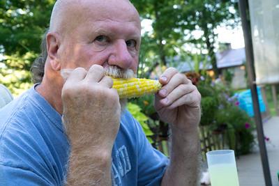 Good corn. Taste of the summer.