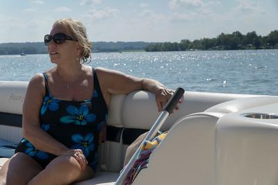 The women on Atwood Lake. Alexis.