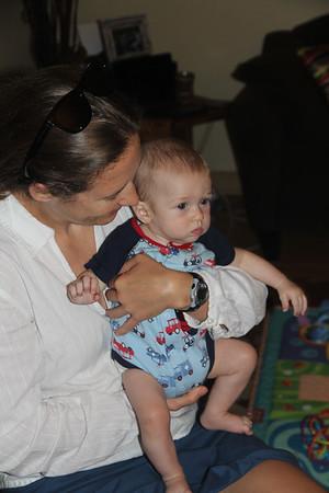 my niece, Anne Flinn with Elliot