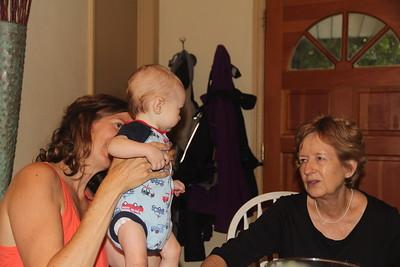 Catherine, Elliot and my sister, Mary Ann Flinn