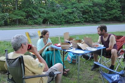 Melanie's birthday picnic