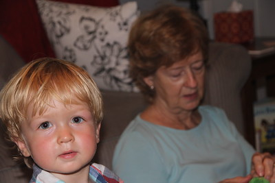 Elliot and Great-Aunt Mary Ann