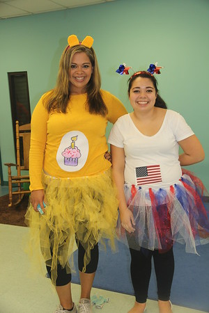 Birthday and Patriotic Care Bear Teachers