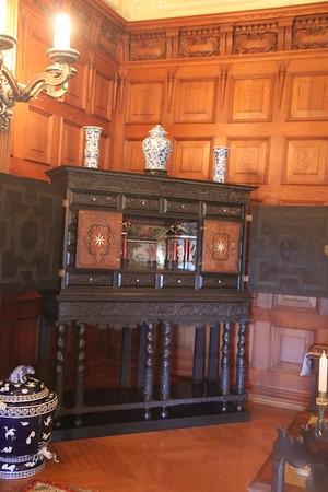 in the Oak Sitting Room
