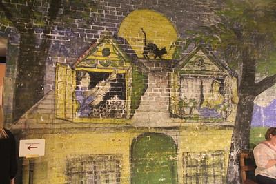 Halloween Room (in the basement)