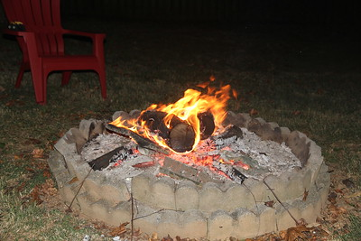 homemade bonfire