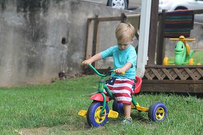 "he now calls this his ""big bike"""