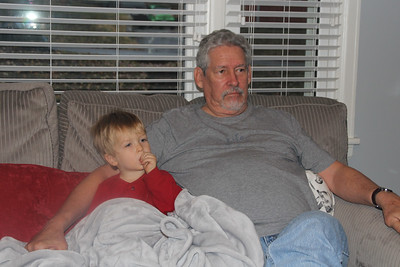 chillin' with Granddad