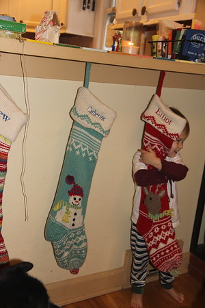 which stocking belongs to Ellliot?
