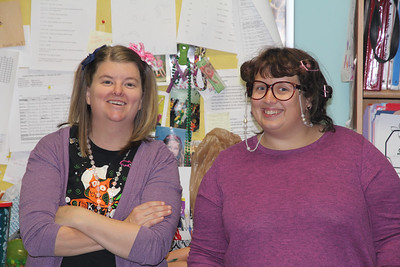 Courtney & Molly - Elliot's current teachers