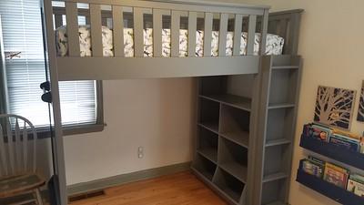 Elliot's new loft bed