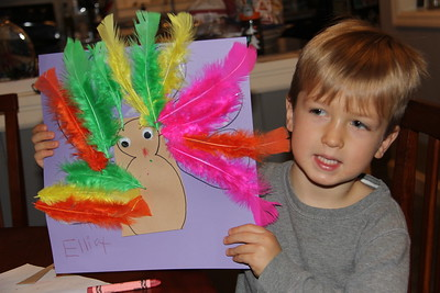 Elliot made this to take to Atlanta for Thanksgiving (maybe the centerpiece?)