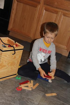 Kapla Blocks - I have had these since Caleb & Wyatt were small.