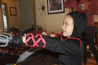Ninjas have swords