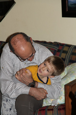 Elliot & Granddad Mike