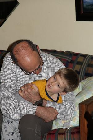Elliot & Granddad Mike