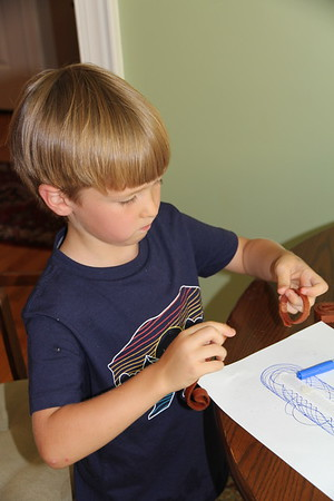 spirograph and snack
