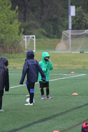 hard to play in the rain and wearing a mask