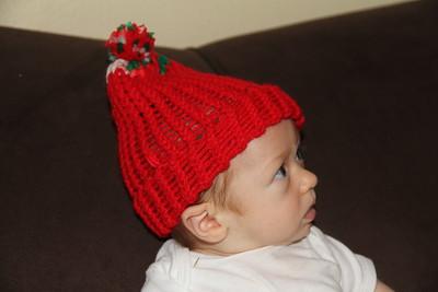 STOP! Granddad, this is not really Santa's hat!
