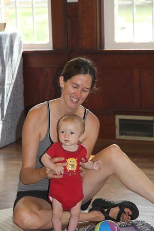Elliot & Catherine at Mommy & Me Kindermusik Class
