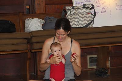 Elliot loves to eat mommy's fingers