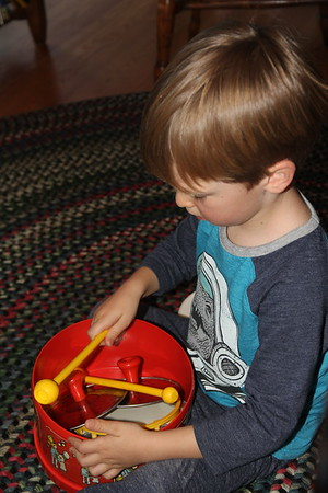 we had a jam with these instruments that once belonged to his Uncle Edward